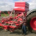 Maschinenvorführung Kverneland - Tine Seeder EVO